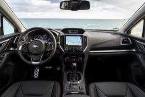 Subaru XV Modellaenderungen Innenraum