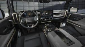 Elektro Hummer EV Innenraum