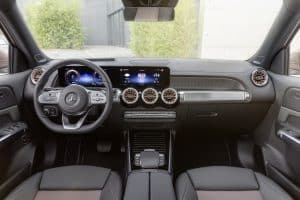 Mercedes EQB Innenraum