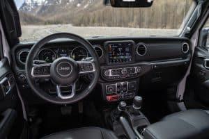 Jeep Wrangler 4xe Innenraum