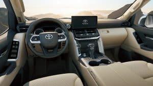 Toyota Land Cruiser V6 Innenraum